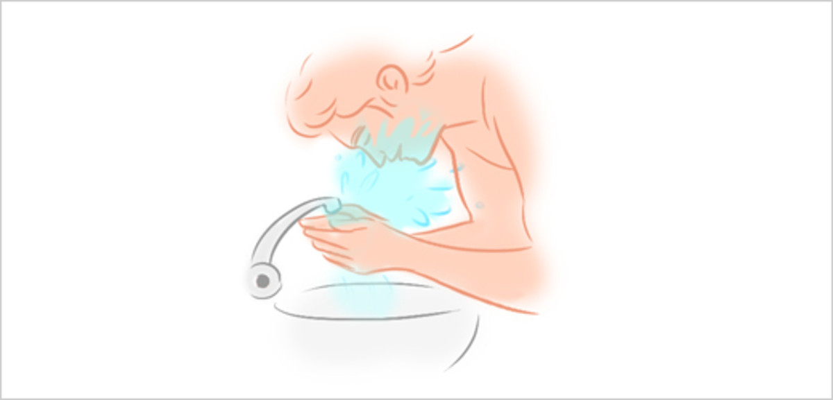 Step 6 - Rinse Your Face