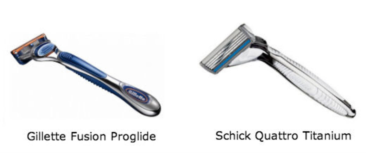Gillette vs. Schick