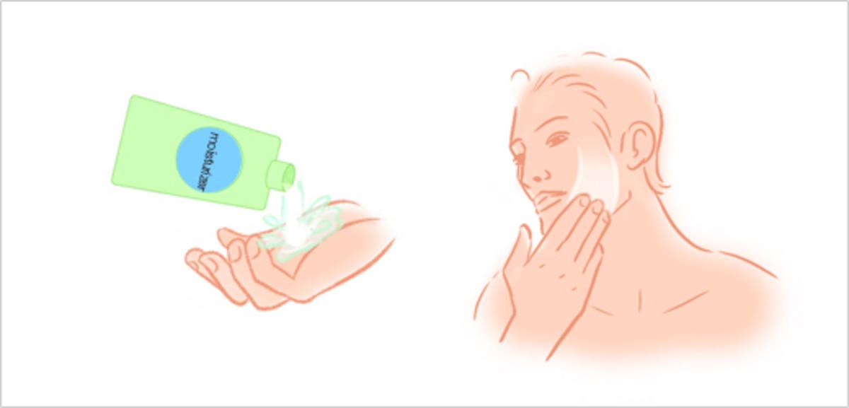 Step 8 - Apply Moisturizer