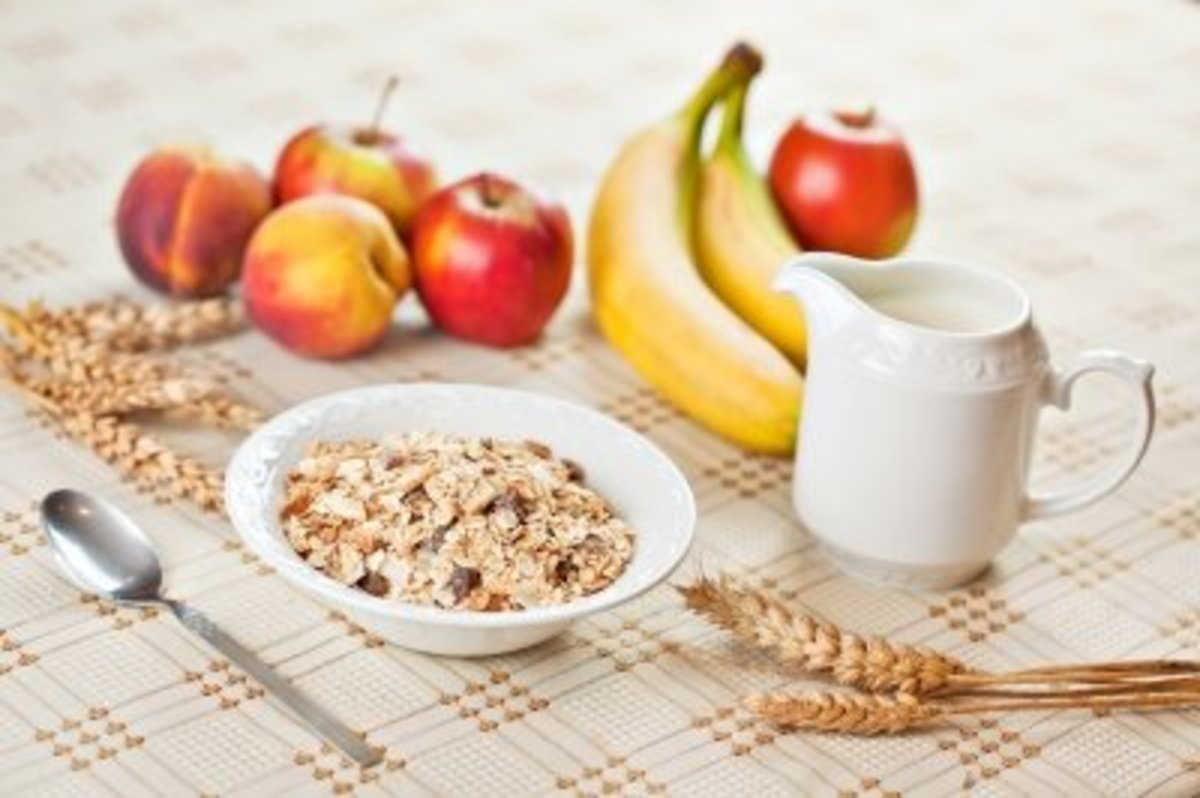 Beautiful breakfast? Or great ingredients for a fabulous face mask?