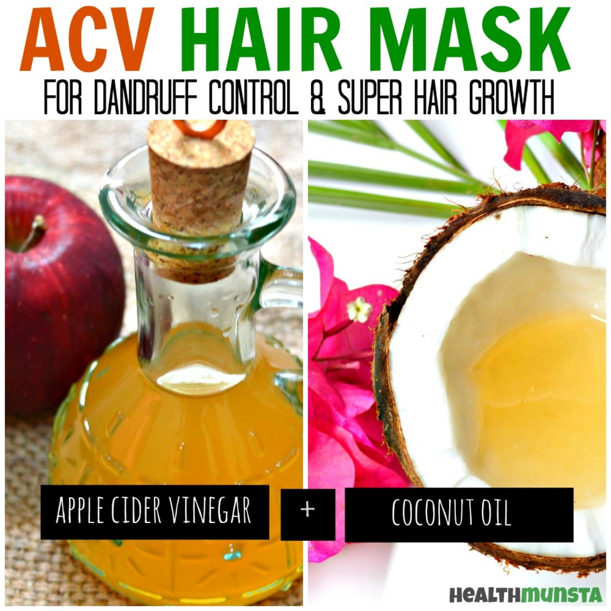 Apple cider vinegar for hair growth recipe