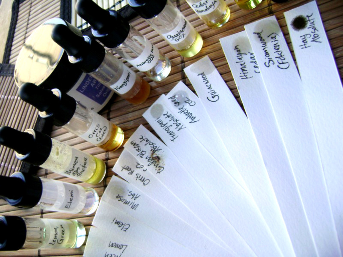 When altering a recipe, test it on a strip of blotting paper before adding another essential oil. This ensures that the fragrance is going in the direction you want it to.