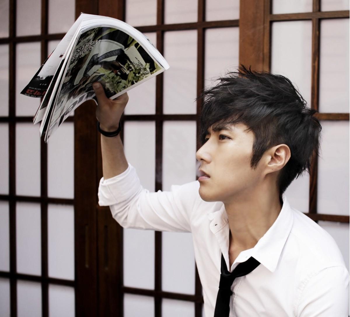 Awe Inspiring Latest Trendy Asian Amp Korean Hairstyles For Men 2015 Bellatory Short Hairstyles Gunalazisus