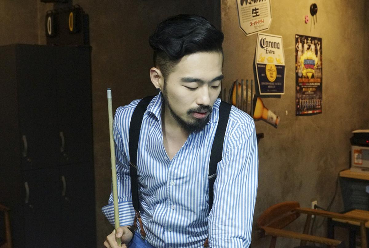 Short Korean Hairstyles Male