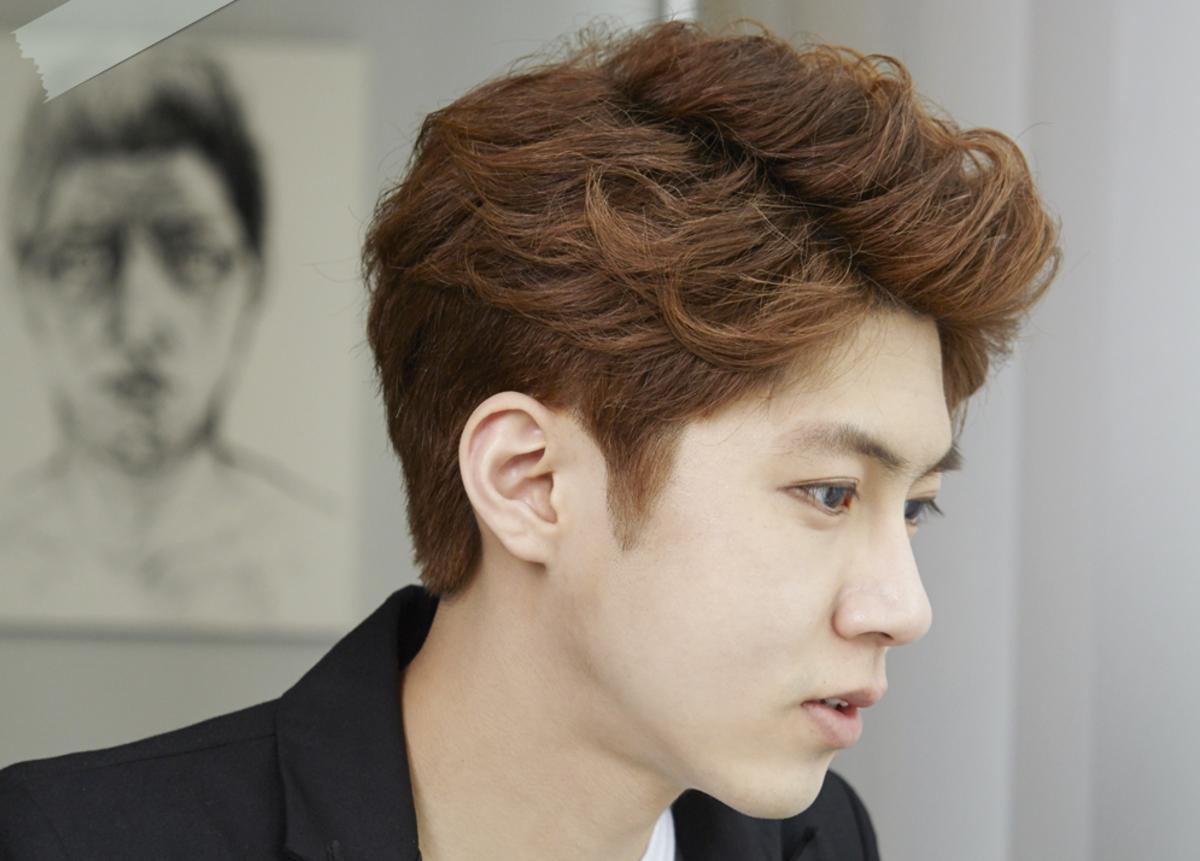 Peachy Latest Trendy Asian Amp Korean Hairstyles For Men 2015 Bellatory Short Hairstyles Gunalazisus