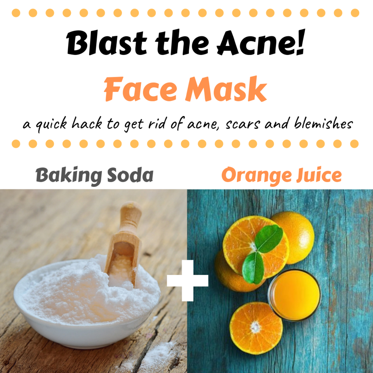 This is a great mask for eliminating acne, blackheads, pimples and acne scars!