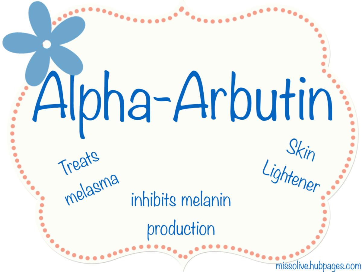 Alpha-arbutin has been clinically proven to control the production of melanin. This is good to know if you have melanoma or hyperpigmentation issues.