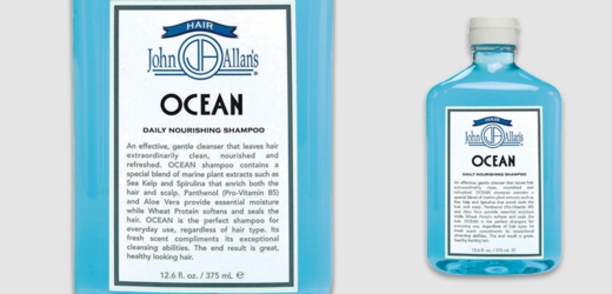 John Allan's Ocean Daily Nourishing Ocean Shampoo
