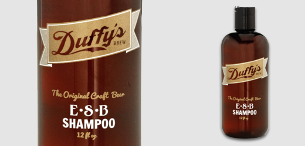 Duffy's Craft Beer Shampoo