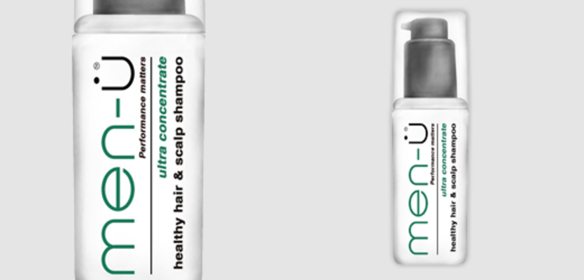 Men-u Healthy Hair & Scalp Shampoo