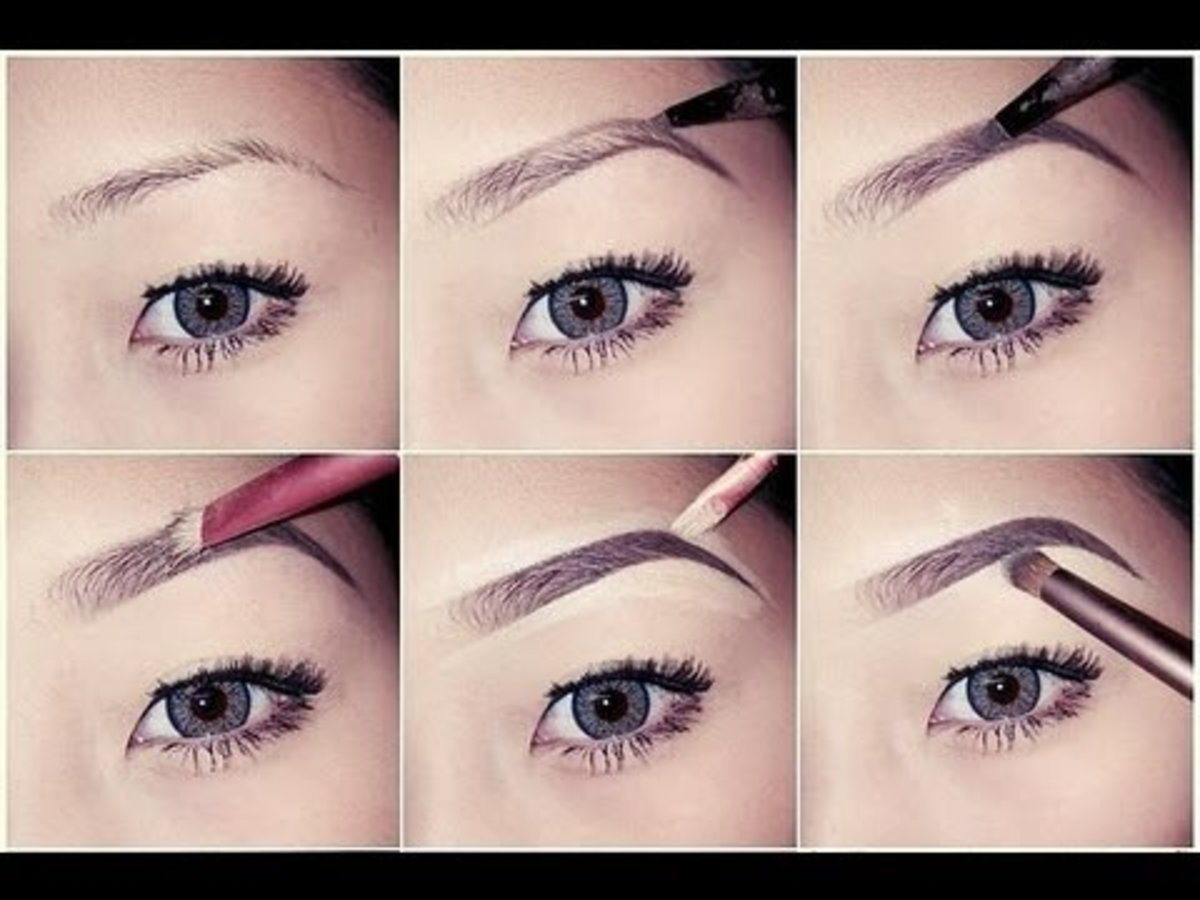 Use waterproof eyebrow pencil