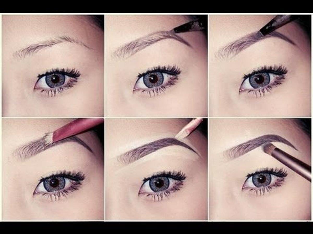 Use waterproof eyebrow pencil