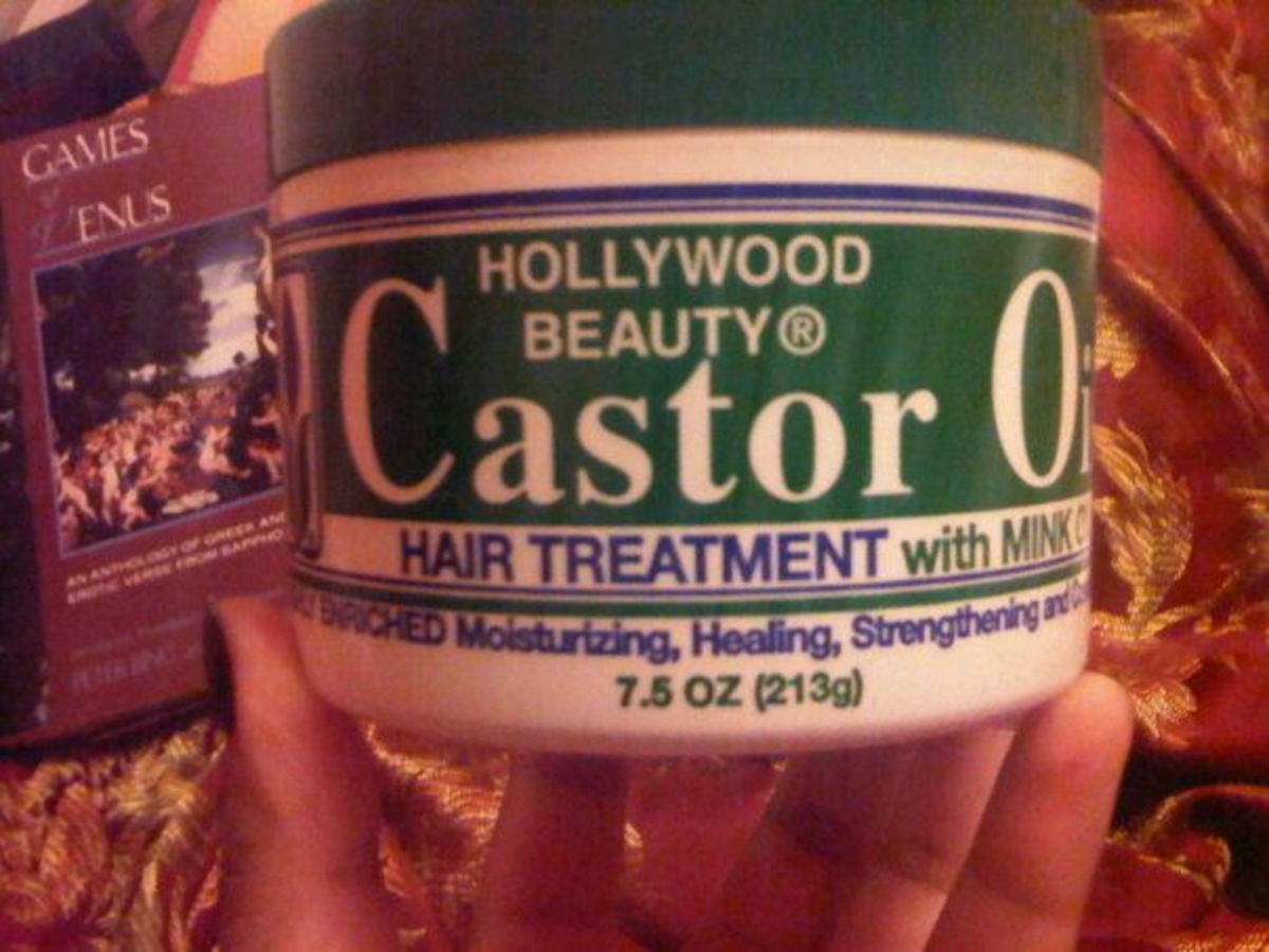 This is the particular brand of castor oil that I like to use.
