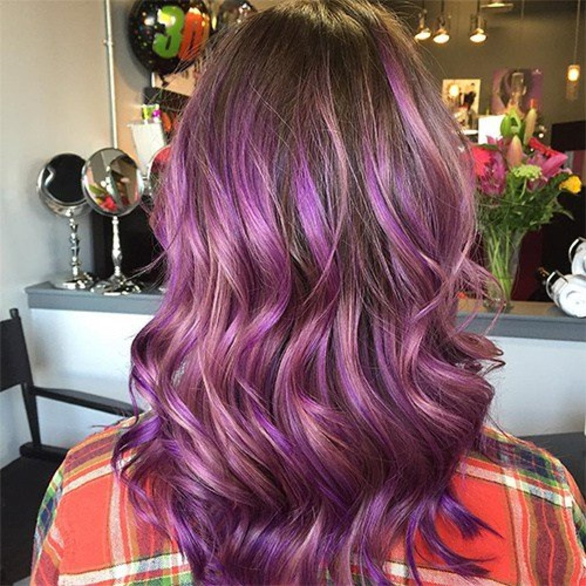 How To Dye Your Hair Purple Bellatory