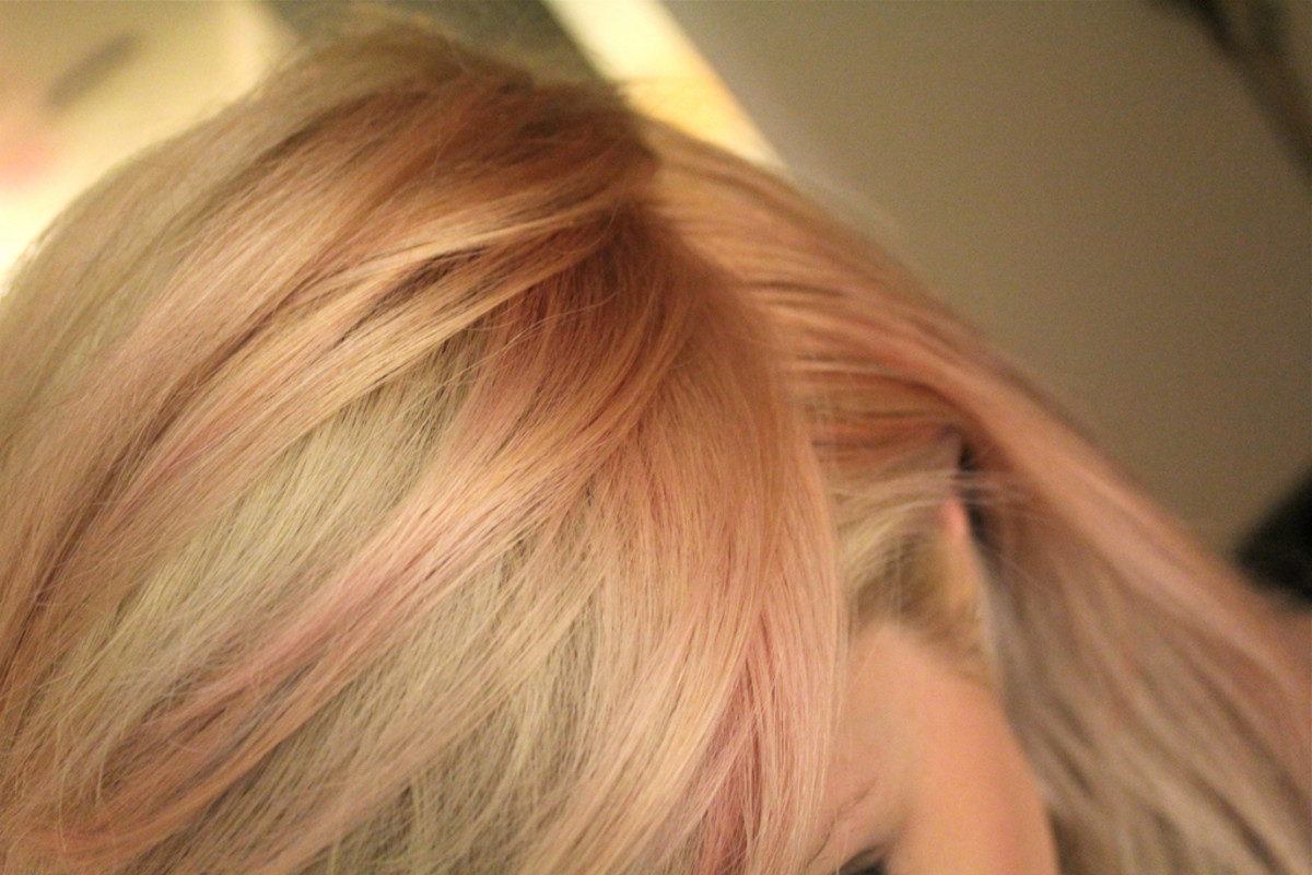 Rosewood blonde hair