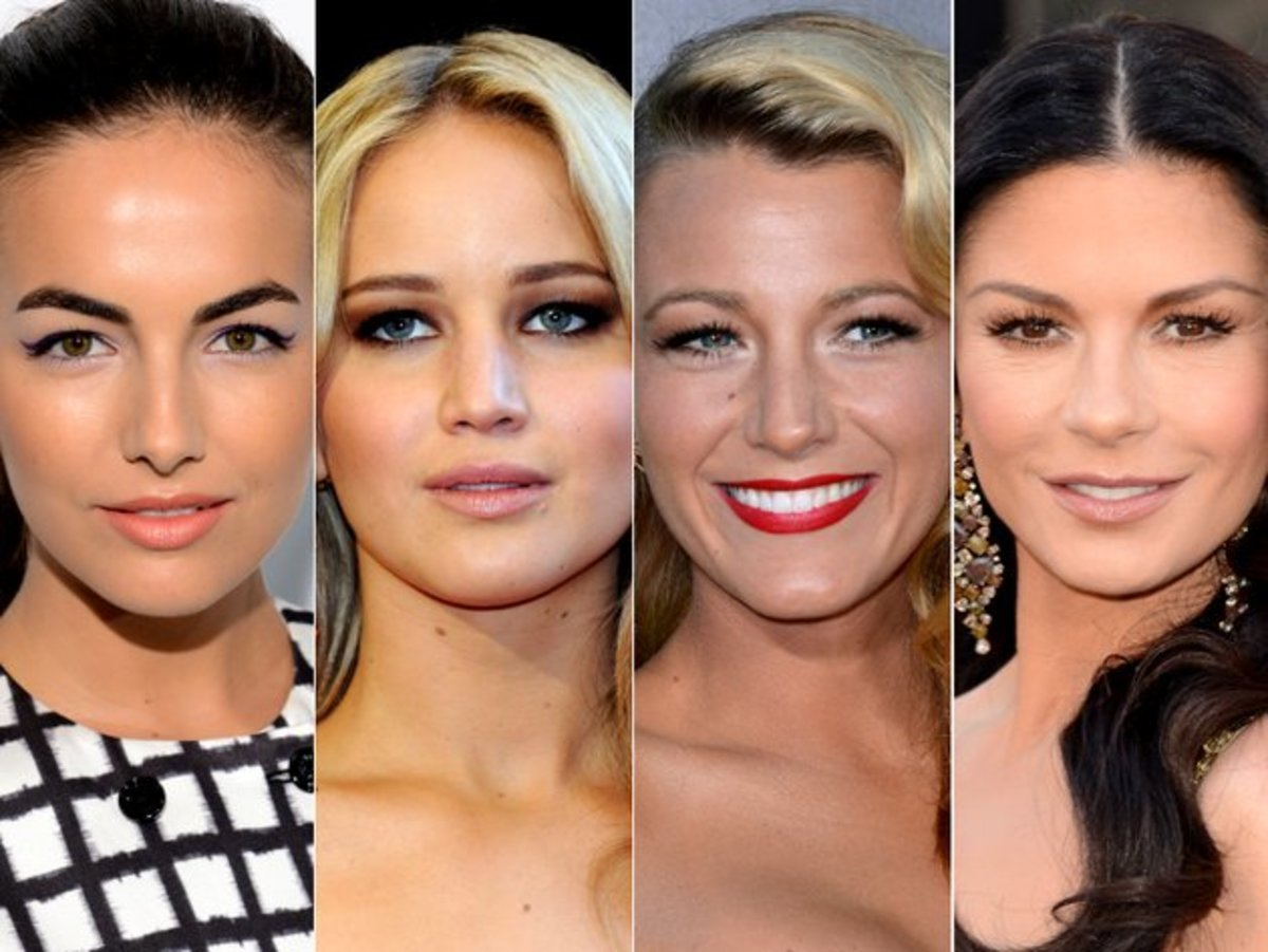 A few females stars who have hooded eyes.