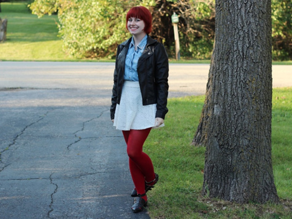 Stay warm in winter by layering up!