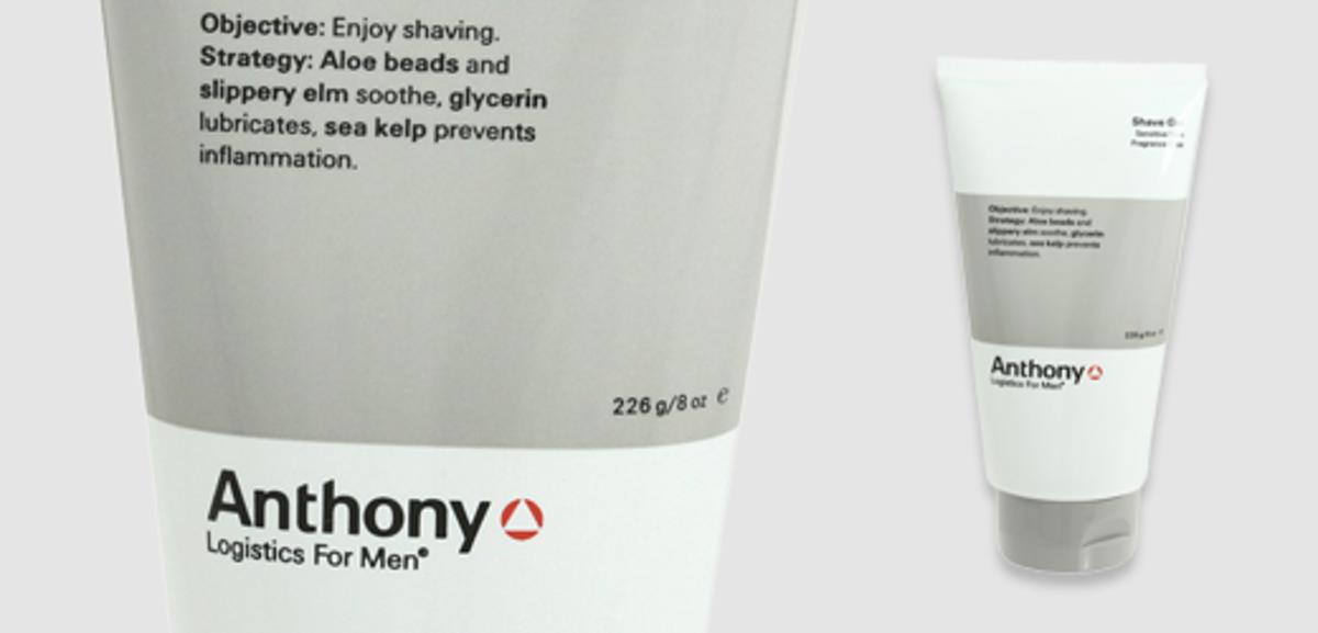 Anthony Logistics for Men Shave Gel