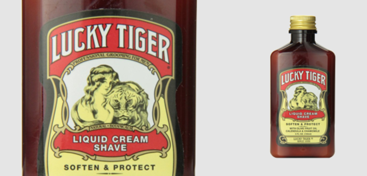 Lucky Tiger Liquid Cream Shave