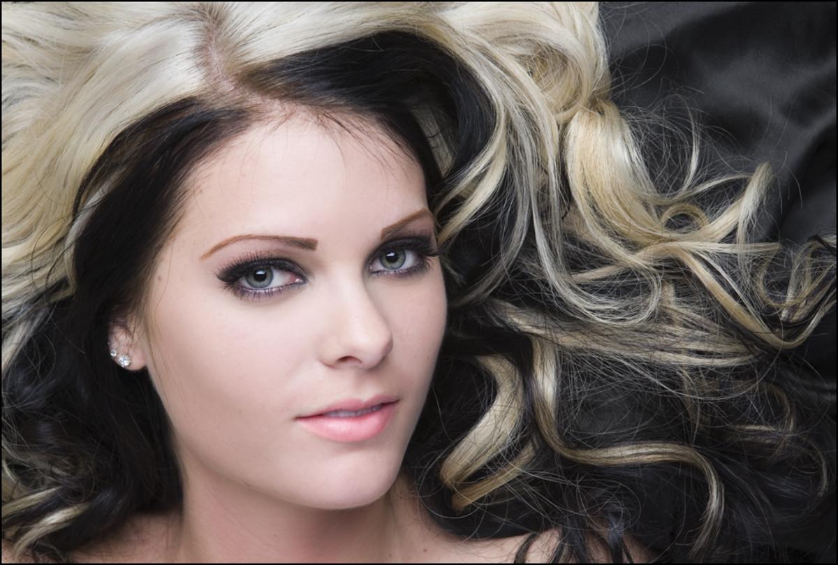 Stupendous How To Dye Blonde And Black Hair Bellatory Short Hairstyles Gunalazisus