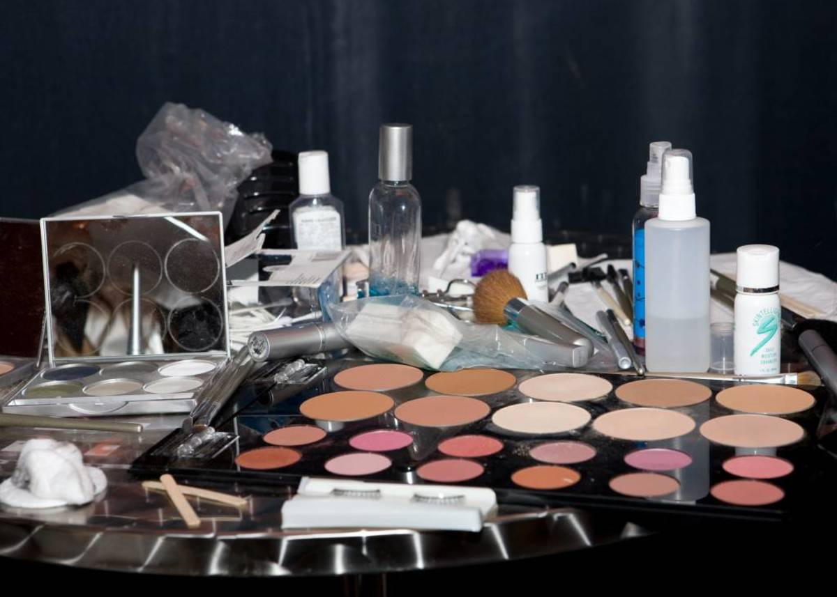 You can expect powder products like face powder (loose or pressed), blush, and eye shadow to last about two years.