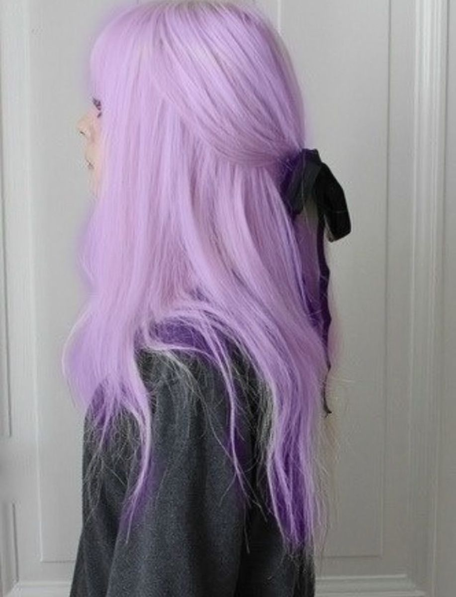 Purple Pastel Hair