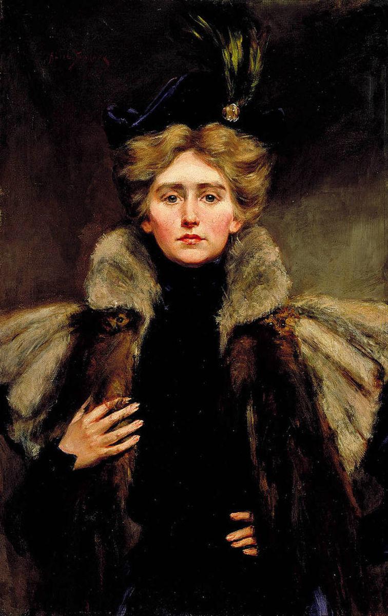 Natalie Barney in 1896