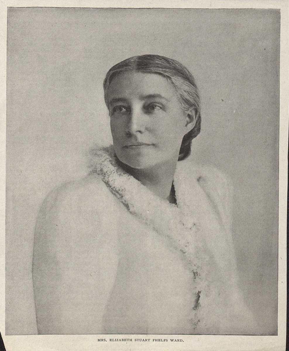 Elizabeth Stuart Phelps Ward. (MSS 6997-e. Clifton Waller Barrett Library of American Literature. Image by Petrina Jackson)