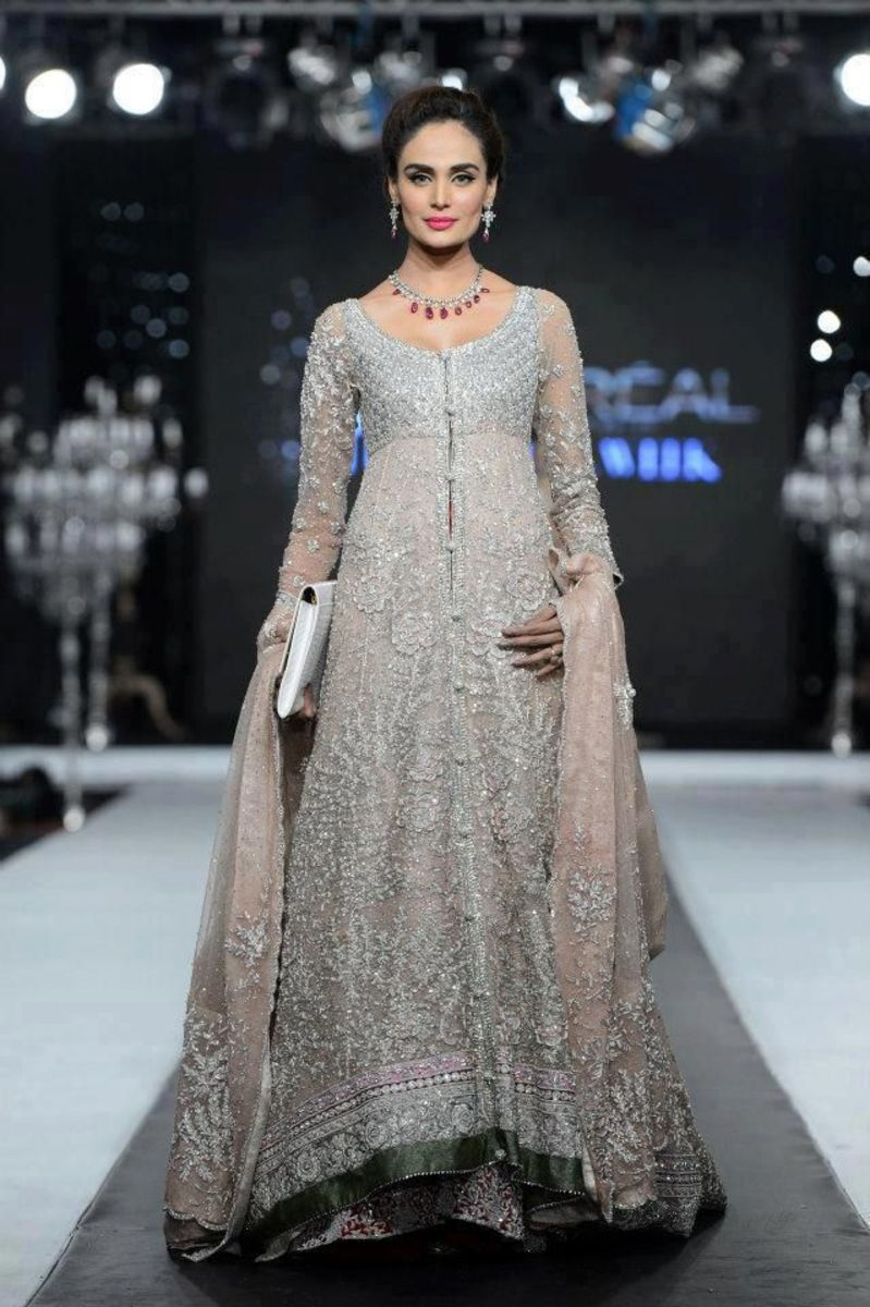 Designer bridal sharara.