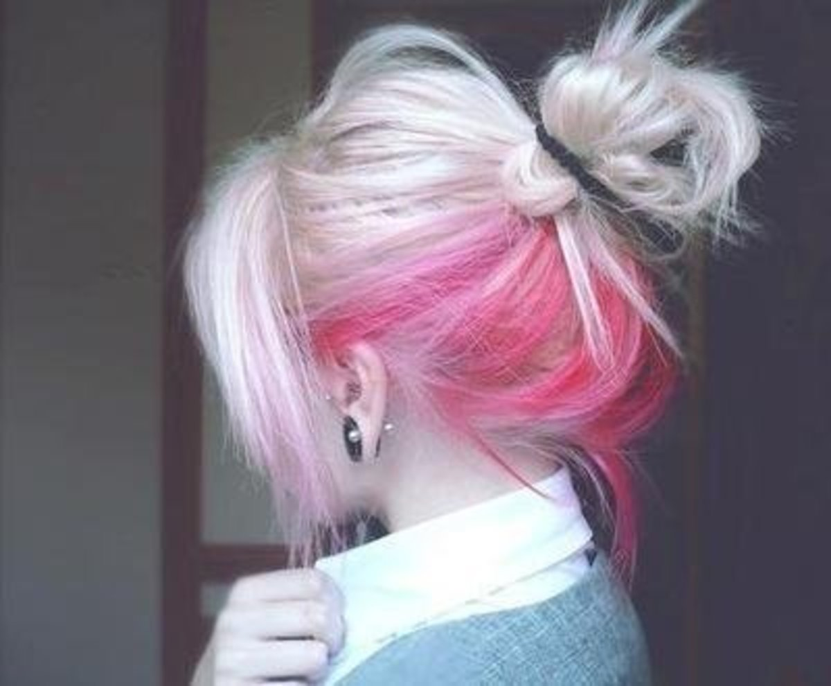 DIY Hair: 10 Ways to Dye Colorful Hair   Bellatory