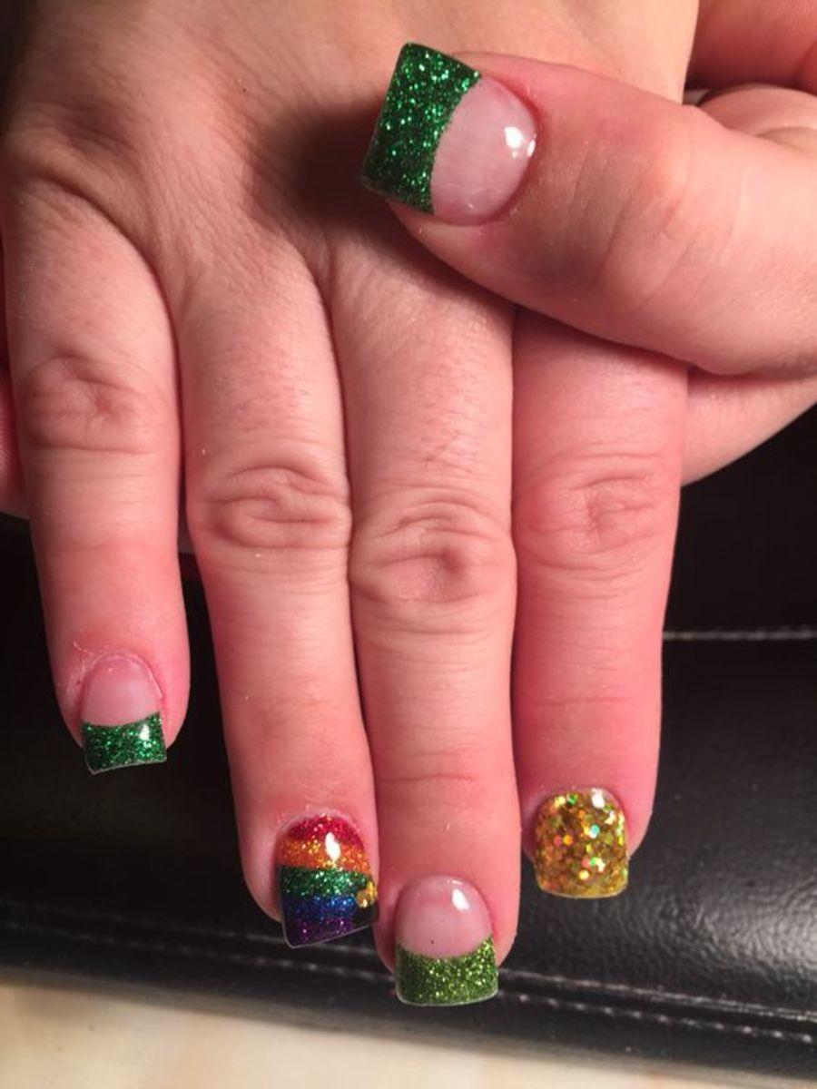 Saint Patricks Day Nail Designs Bellatory