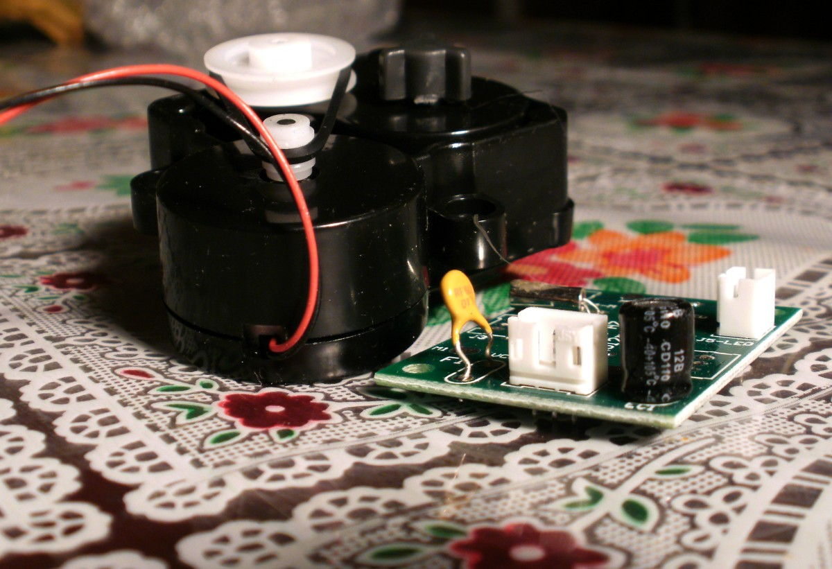 Replacement motor and control board