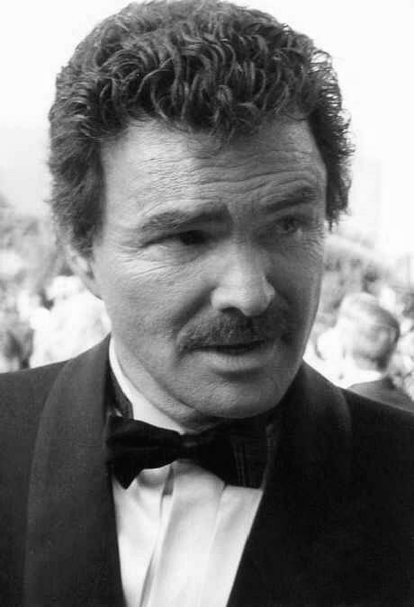 One of the most famous wearers of the chevron is Burt Reynolds.