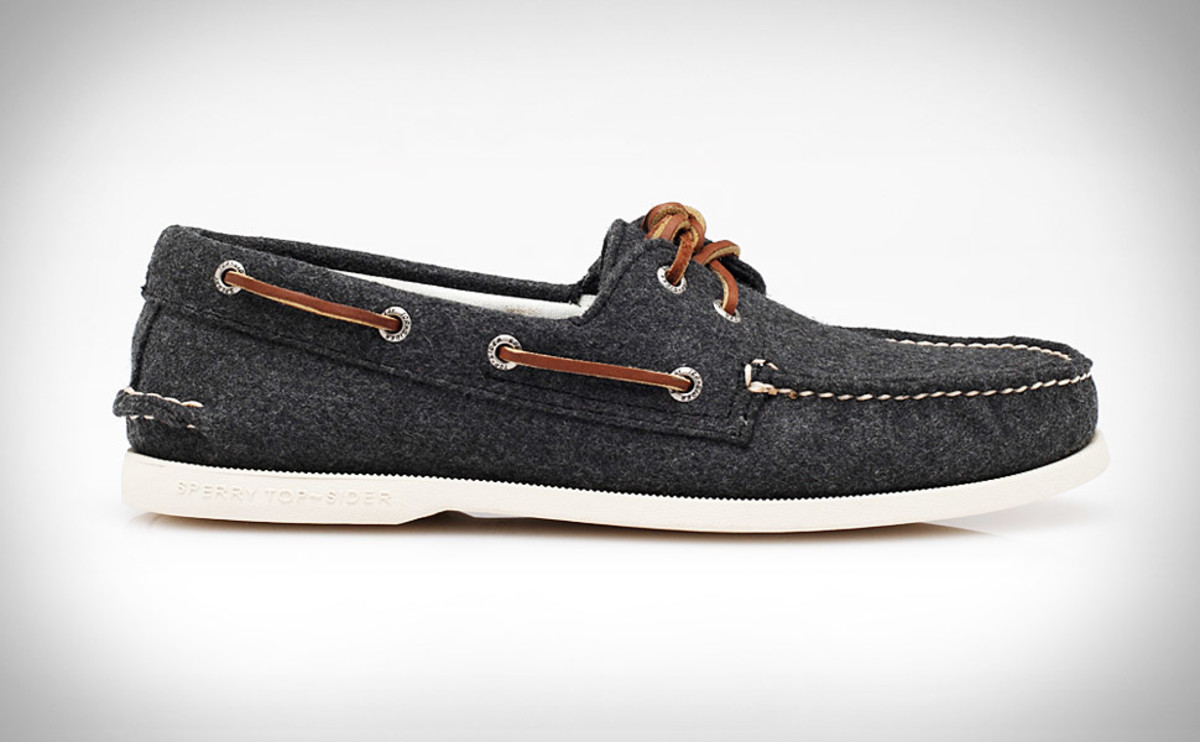 A boat shoe.