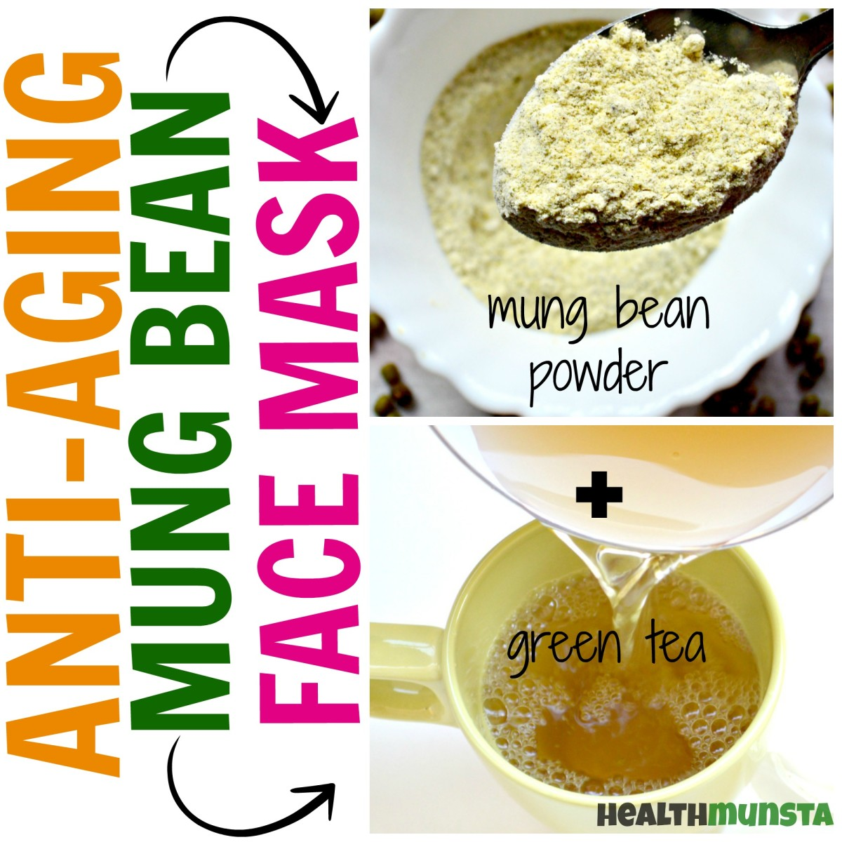 Green tea contains excellent anti-aging properties that work internally as well as externally.
