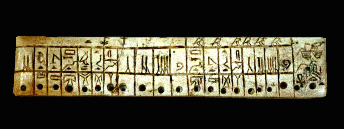 This 4,000 year old textile inventory documents a list of linen fabrics including undergarments, shirts, and bed sheets (2600 BCE)