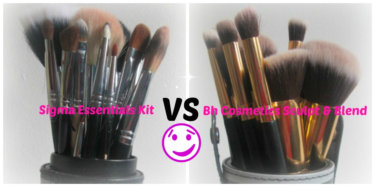 Sigma Essential Brushes VS Bh Cosmetics Sculpt & Blend
