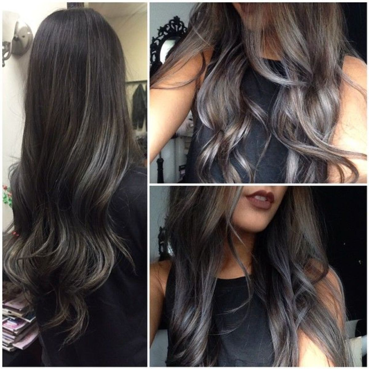 Subtle Gray Hair Dye