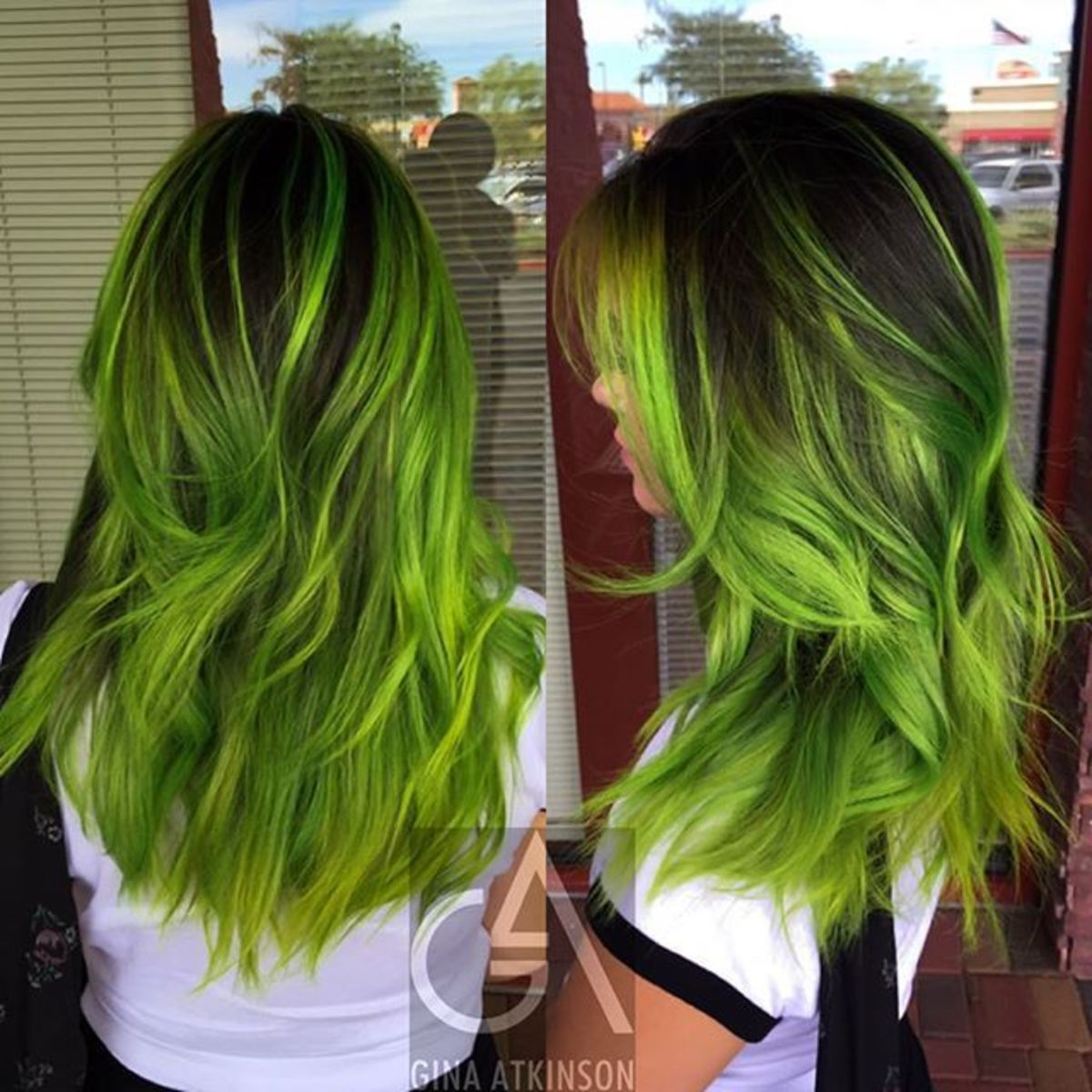 diy hair  10 green hair color ideas