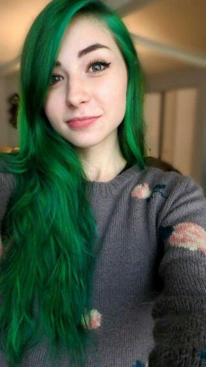 DIY Hair: 10 Green Hair Color Ideas | Bellatory