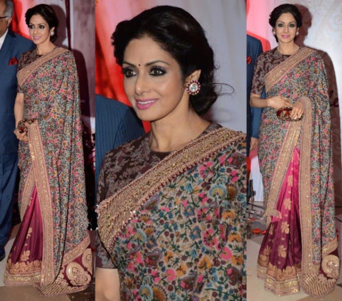 Sridevi's floral printed outfit