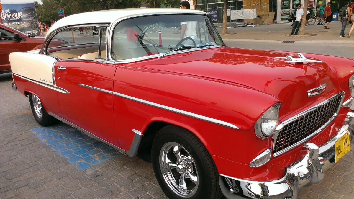 Vintage is admired.  Folks walk around admiring stick shift, bumpers etc.  Not for poor socks!