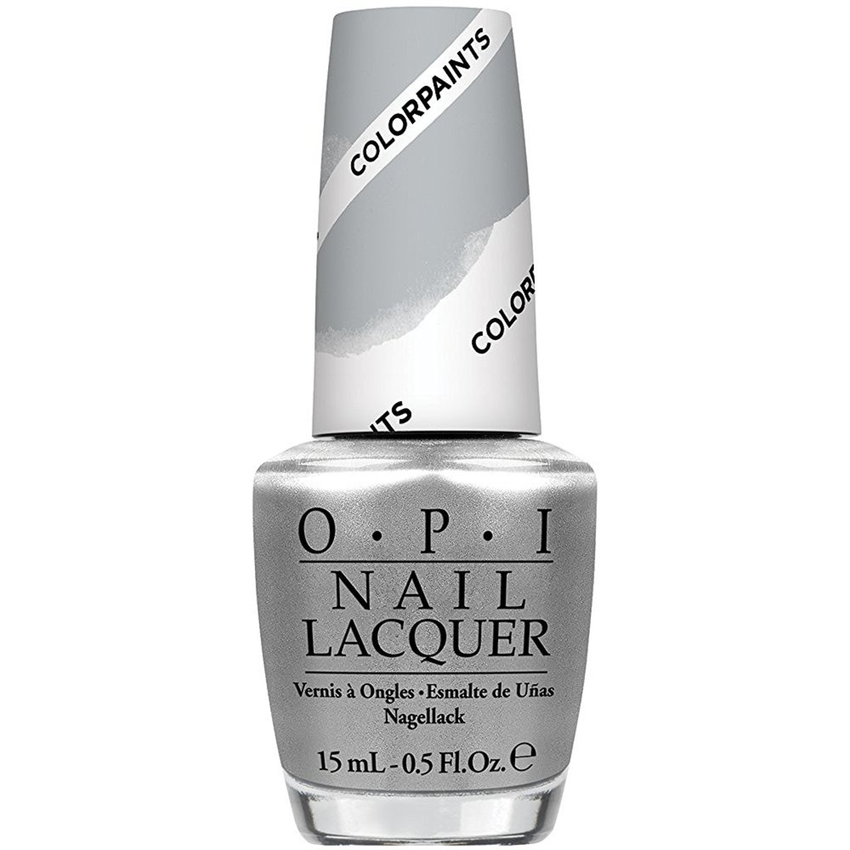 OPI Nail Lacquer, Silver Canvas