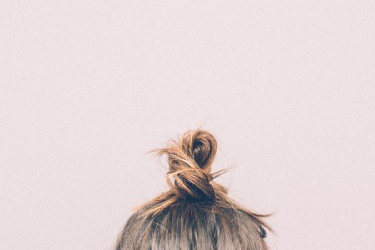 Coconut oil strengthens hair.
