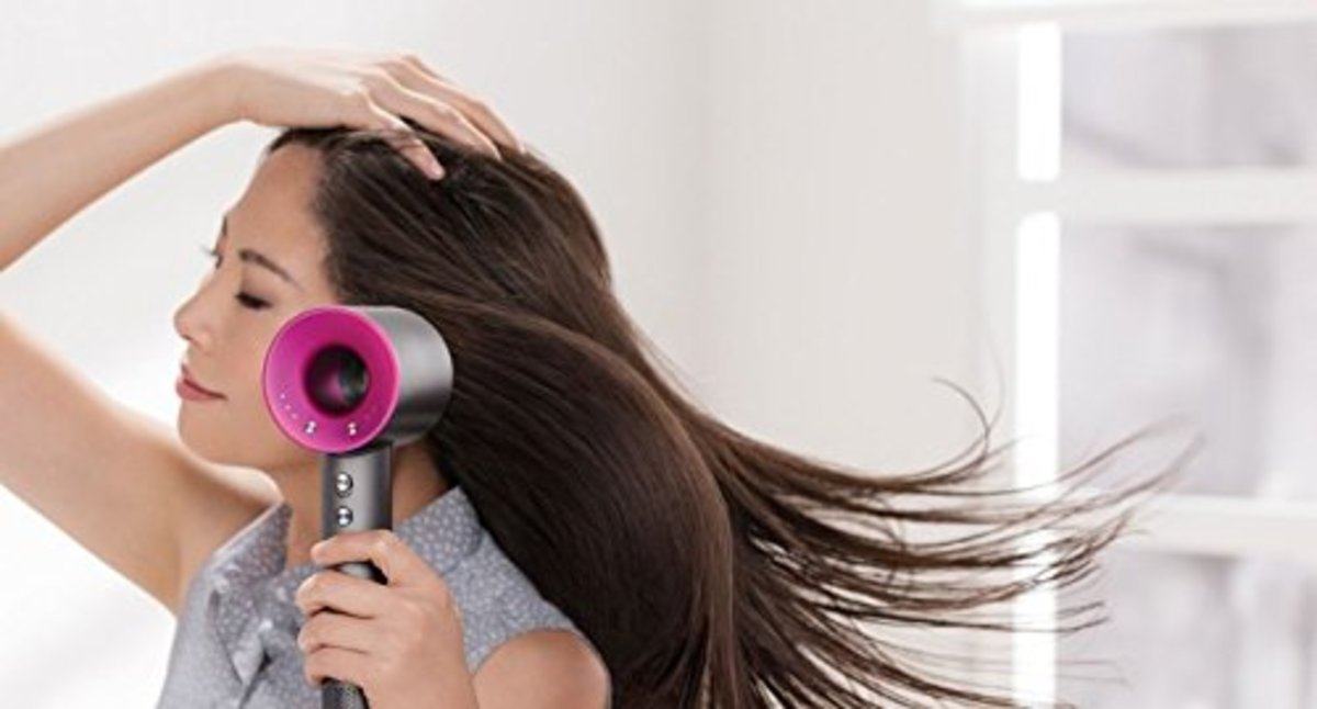 The dyson blow dryer moves a lot of air while styling, without damaging the hair follicles, as standard blow dryers do.