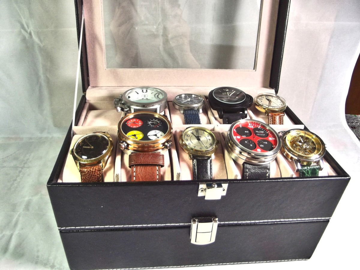 review-of-the-unbranded-double-layer-20-grid-pu-leather-watch-display-case