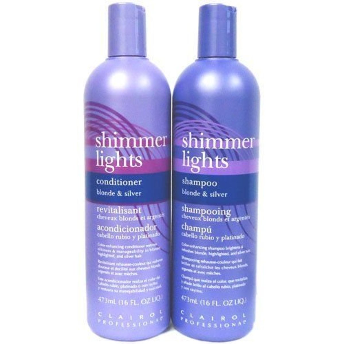 Shimmer Lights is a name brand purple shampoo.
