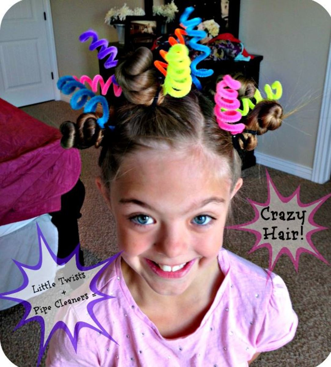 Astounding 11 Wacky Hair Ideas For Exciting Crazy Hair Day At School Bellatory Natural Hairstyles Runnerswayorg