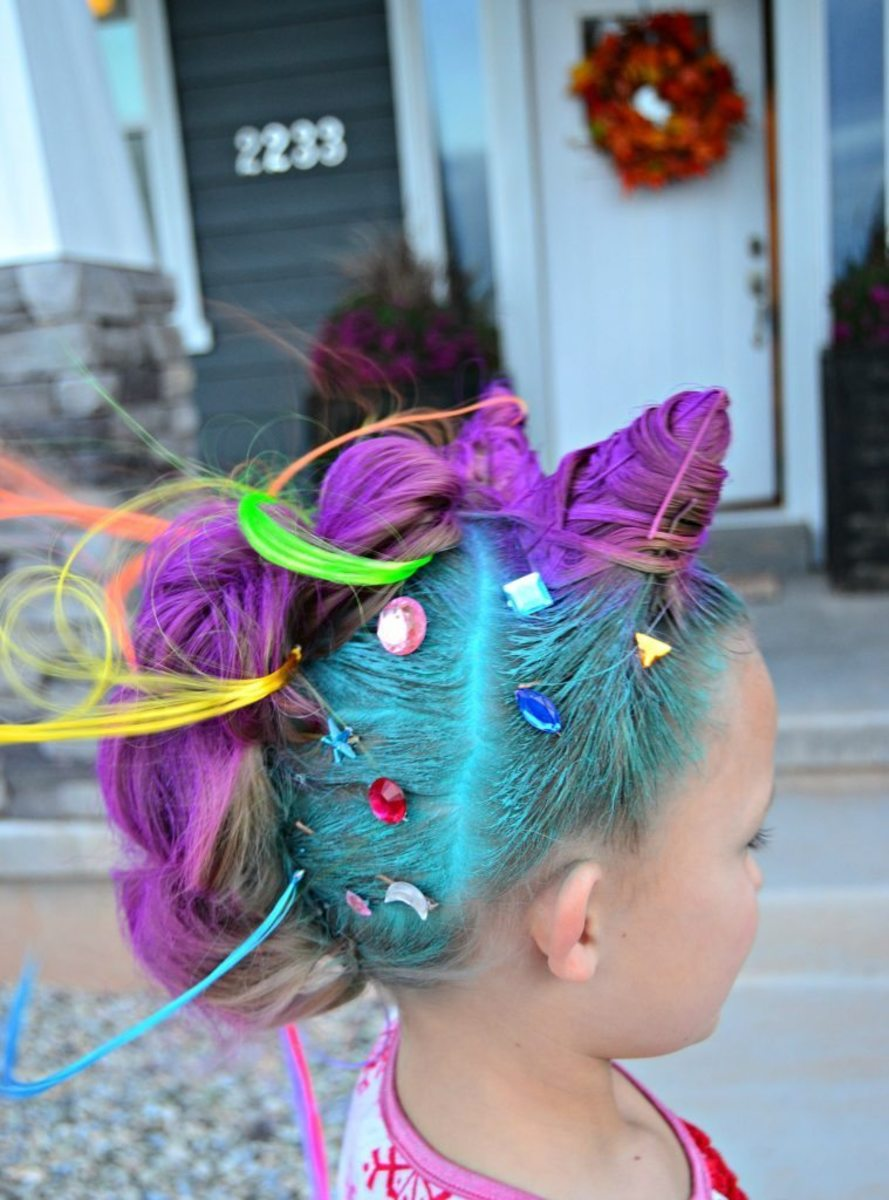 Marvelous 11 Wacky Hair Ideas For Exciting Crazy Hair Day At School Bellatory Natural Hairstyles Runnerswayorg
