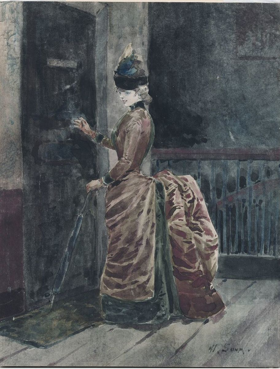 Bustle 1885